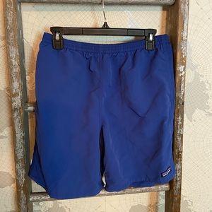 Patagonia Blue swim trunks M EUC